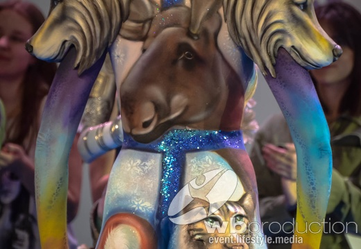 Wb Events French Bodypainting Awards French Bodypainting Award 2019 Open Category Collection By Guy Landry World Of Bodypainting Galleries